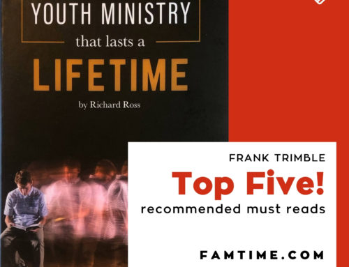 """Youth Ministry That Lasts a Lifetime"" by Dr. Richard Ross."